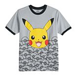 Boys 8-20 Pokemon Pikachu Graphic Tee