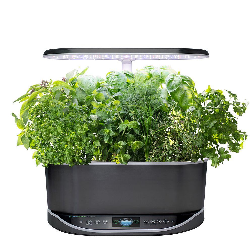 AeroGarden Bounty Elite with Gourmet Herbs Seed Pod Kit