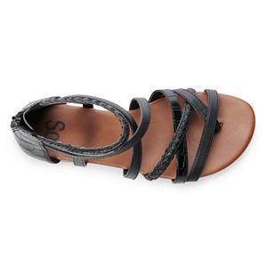SO® Electrifying Women's Gladiator Sandals