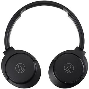 Audio-Technica QuietPoint Wireless Over-the-Ear Active Noise-Canceling Headphones
