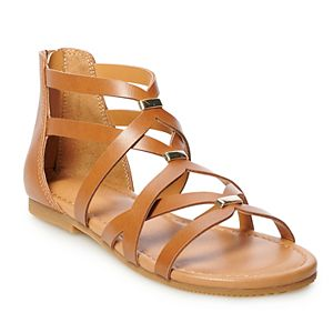SO® Lorita Girls' Gladiator Sandals