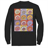 Men's Nickelodeon All That Classic Vintage Logo Panels Long Sleeve Graphic Tee