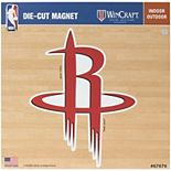 "Houston Rockets 12"" x 12"" Car Magnet"