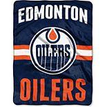 "The Northwest Company Edmonton Oilers 60"" x 80"" Raschel Throw Blanket"