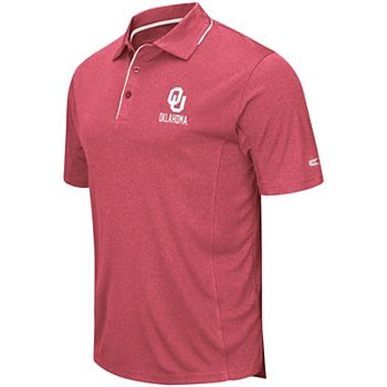 Kansas Jayhawks NCAA Maestro Mens Performance Polo Shirt