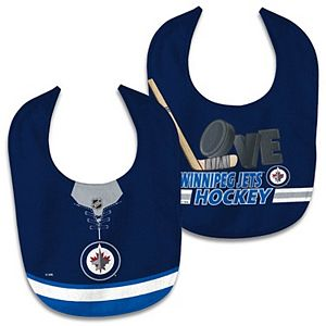 Newborn & Infant WinCraft Winnipeg Jets 2-Pack Bib Set