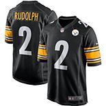 Men's Nike Mason Rudolph Black Pittsburgh Steelers Game Jersey