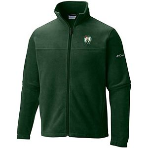 Women's Columbia Kelly Green Boston Celtics Give & Go Full-Zip Jacket