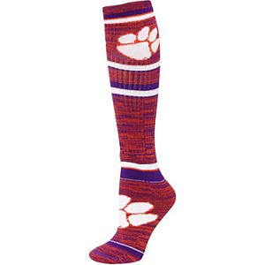 Women's For Bare Feet Clemson Tigers Going to the Game Socks