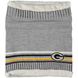 Women's G-III Sports by Carl Banks Green Bay Packers Warm Up Striped Tube Scarf