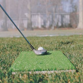 Club Champ Turf Tee Golfer's Chipping and Driving Mat