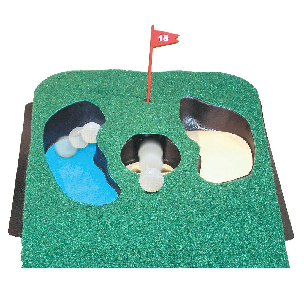 Club Champ Golfer's Putt 'n' Hazard Putting Green
