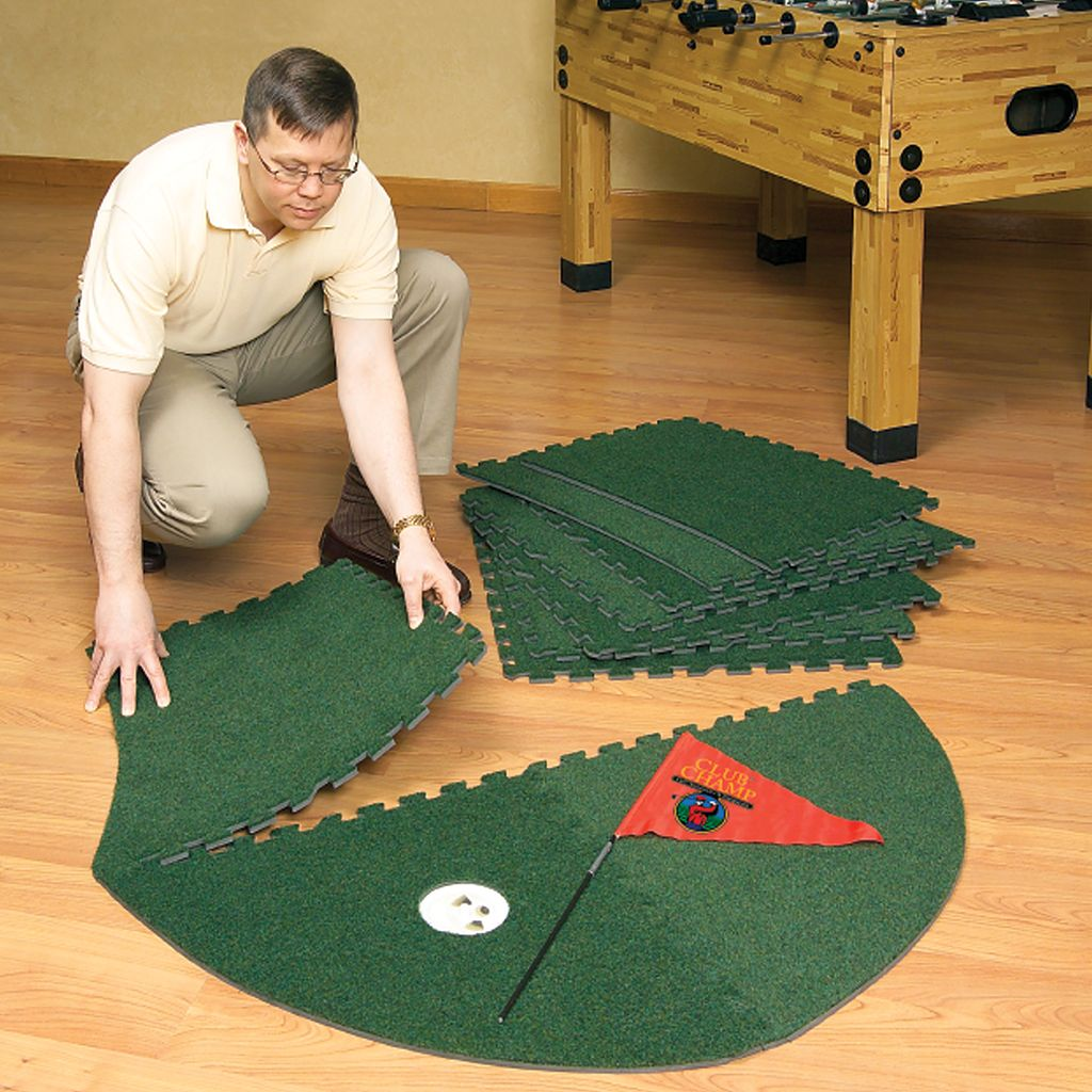 Club Champ Expand-a-Green Golfer's Modular Putting System