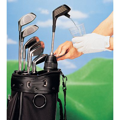 Club Champ Kooler Klub Golfer's Drink Dispenser and Cooler