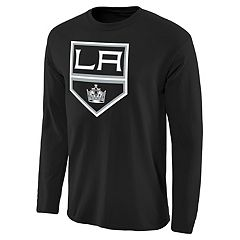 NHL Los Angeles Kings adidas Authentic Ice Short Sleeve Climalite T Shirt Mens