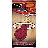 "WinCraft Miami Heat 30"" x 60"" Spectra Beach Towel"