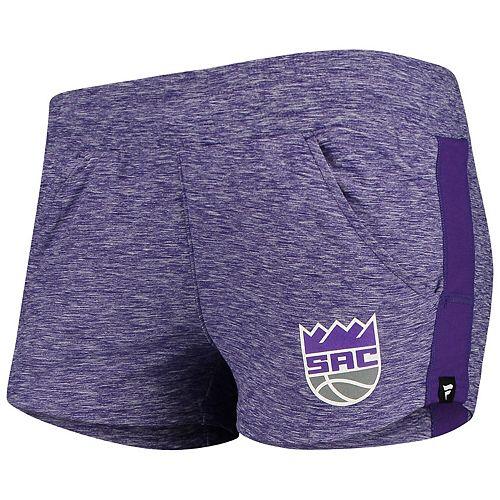 Women's Fanatics Branded Heathered Purple Sacramento Kings Made to Move Shorts