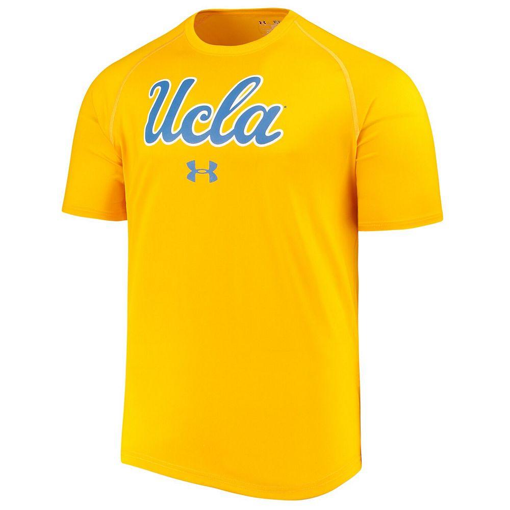 Men's Under Armour Gold UCLA Bruins School Logo Performance T-Shirt
