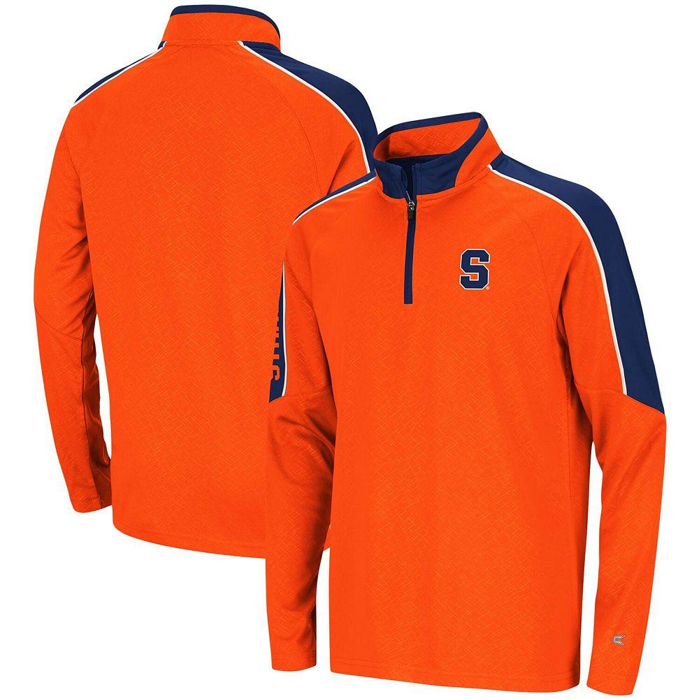 Youth Colosseum Orange Syracuse Orange Bunsen Colorblock Quarter-Zip Pullover Jacket