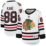 Youth Patrick Kane White Chicago Blackhawks Away Replica Player Jersey