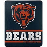 The Northwest Chicago Bears 50'' x 60'' Split Wide Fleece Throw Blanket