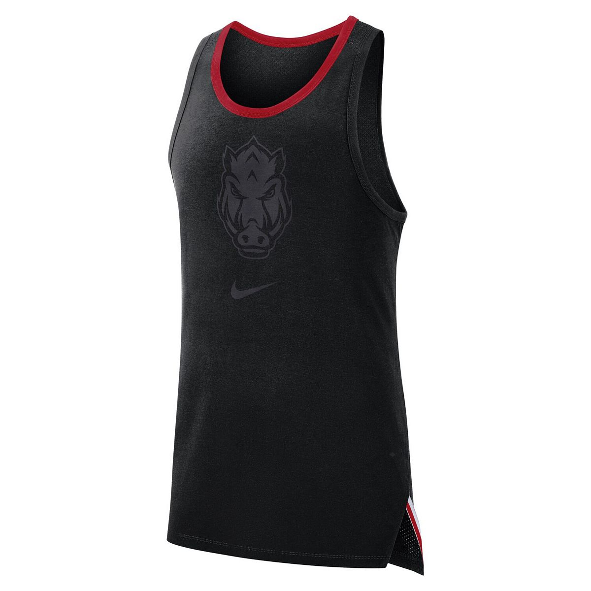 Men's Nike Black Arkansas Razorbacks Elite Performance Sleeveless Top VIjQb