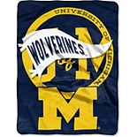 "The Northwest Company Michigan Wolverines 60"" x 80"" Idolize Raschel Throw Blanket"