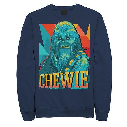 Men's Star Wars Chewie Retro Portrait Sweatshirt