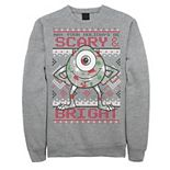 Men's Disney/Pixar Monsters Inc. Mike May Your Holidays Be Scary Sweatshirt