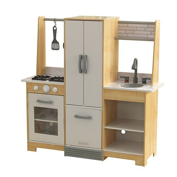 Kidkraft Modern Day Play Kitchen With Ez Kraft Assembly