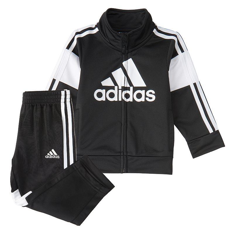 Baby Boy adidas Bold Jacket & Pant Set, Infant Boy's, Size: 24 Months, Black