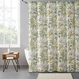 VCNY Home LuLu Tropical Shower Curtain Bath Bundle