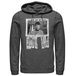 Men's Star Trek The Original Series Logic Of Spock Text Poster Hoodie