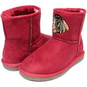 Girls Youth Cuce Chicago Blackhawks Rookie 2 Boots
