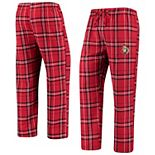 Men's Concepts Sport Red/Black Ottawa Senators Hillstone Flannel Pants