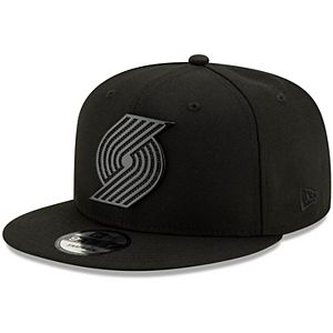 Black On Black//White Flag New Era 9fifty Snapback Cap Seattle Seahawks Black