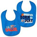 Newborn & Infant WinCraft Oklahoma City Thunder 2-Pack Bib Set