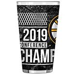 Boston Bruins 2019 Eastern Conference Champions 16oz. Sublimated Pint Glass