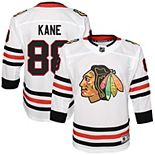 Youth Patrick Kane White Chicago Blackhawks Away Premier Player Jersey