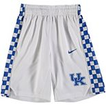 Youth Nike White Kentucky Wildcats Holiday Replica Basketball Shorts