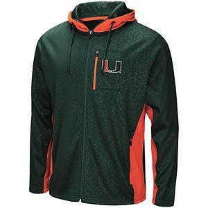 Men's Miami Hurricanes Hagues Full Zip Jacket