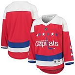 Youth Red Washington Capitals Alternate Replica Jersey