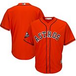 Men's Majestic Orange Houston Astros 2019 World Series Bound Official Cool Base Team Jersey
