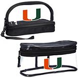 The Northwest Company Miami Hurricanes Two-Piece Travel Set