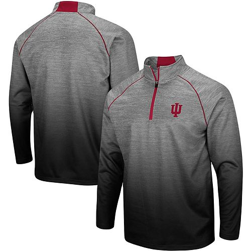 Men's Colosseum Heathered Gray Indiana Hoosiers Sitwell