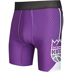 Men's Concepts Sport Purple Sacramento Kings Flyaway Swingman Boxer Briefs