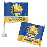 "WinCraft  Golden State Warriors 11"" x 13"" Double-Sided Car Flag"