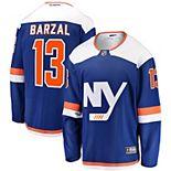 Men's Fanatics Branded Mathew Barzal Blue New York Islanders Alternate Breakaway Jersey