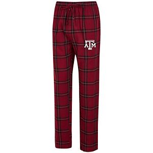 Men's Concepts Sport Maroon/Black Texas A&M Aggies Big & Tall Homestretch Flannel Pants