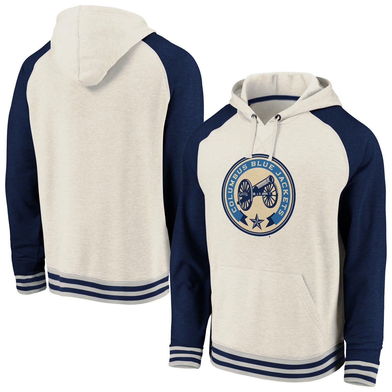 blue jackets jersey sweatshirt